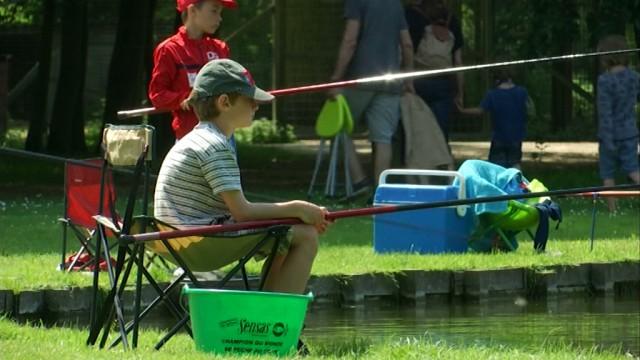 Des jeunes à la découverte de la pêche à Hélécine
