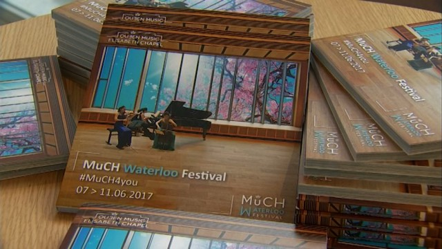 Le premier MuCH Waterloo Festival s'ouvre ce mercredi