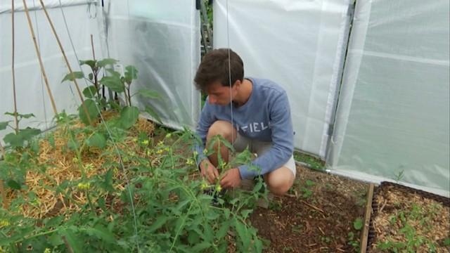 La passion de Piero, 17 ans ? La permaculture !