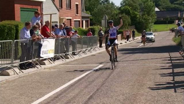 testLe 3ème Grand Prix de Perwez Cycliste remporté par Luuk Herben