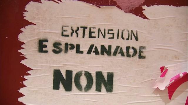 Extension de l'Esplanade: les arguments du non