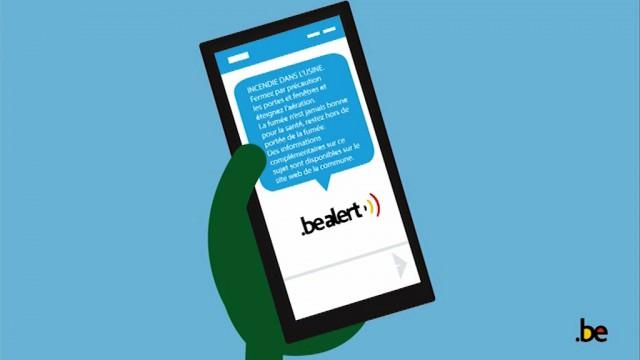 testWaterloo adopte la plate-forme BE-Alert