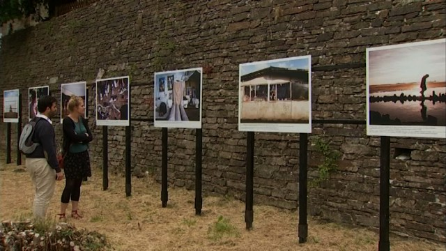 Brassage photographique :  170 photos des 4 coins du monde à l'Abbaye de Villers