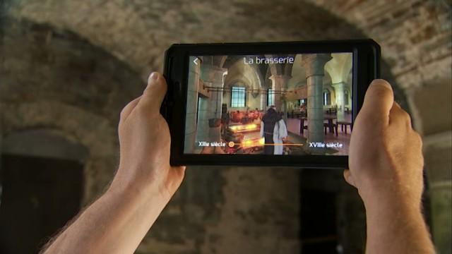 testUn voyage virtuel dans le temps à l'Abbaye de Villers-la-Ville