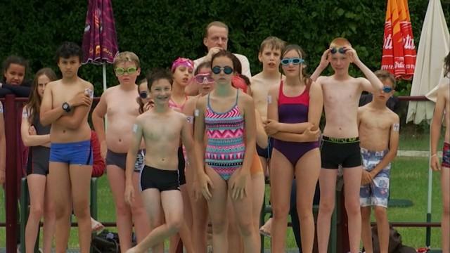 Des jeunes Ottintois découvrent le triathlon