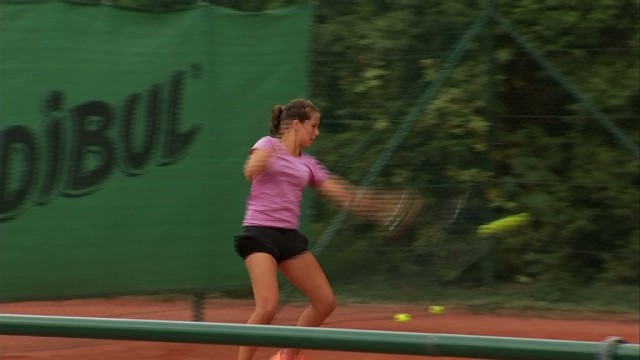 testTennis: Justine Henin Junior Cup à Limelette