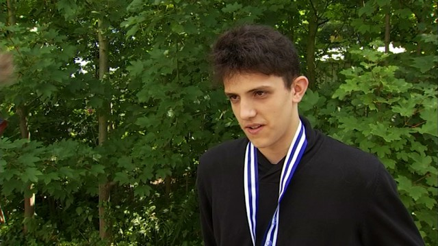 Volley-ball : Romain Van Helmont - médaille d'argent U17