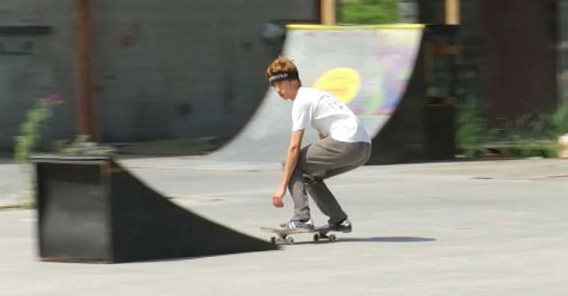 Un skatepark aux anciens Bétons Lemaire