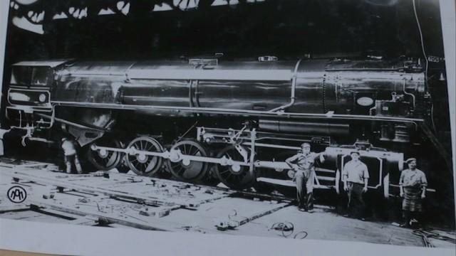 testUn siècle de construction de locomotives à vapeur