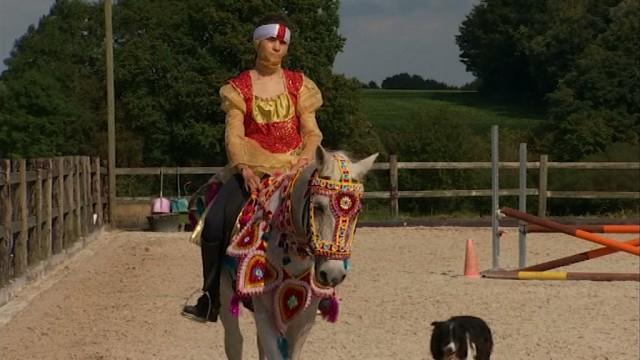 testTempo d'Eole, un spectacle de cirque équestre et théâtral à Waterloo