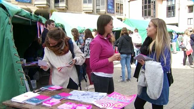 Un rallye culturel pour que les étudiants découvrent Louvain-la-Neuve