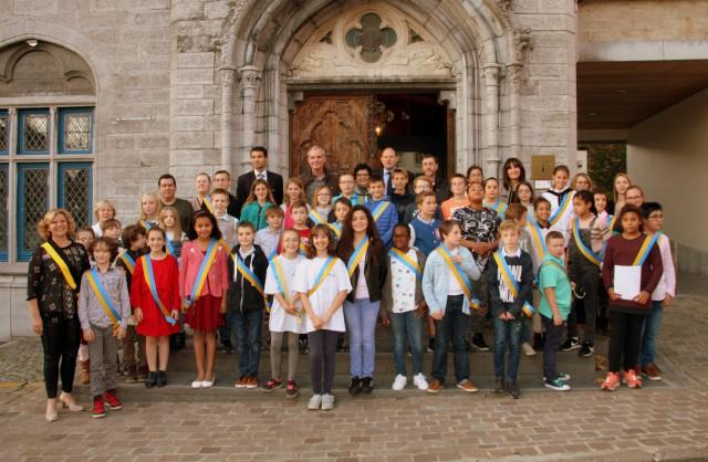 test26 jeunes Brainois élus au Conseil Communal Consultatif des Enfants