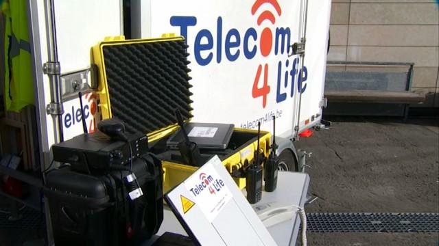 Une unité mobile autonome pour communiquer en cas de catastrophe
