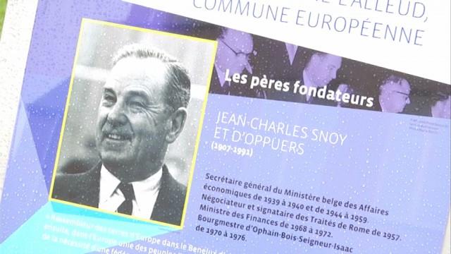 Braine-l'Alleud affiche son statut de commune européenne