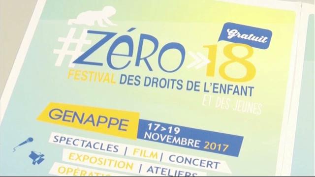 #Zéro-18 : le festival des droits de l'enfant et des jeunes à Genappe