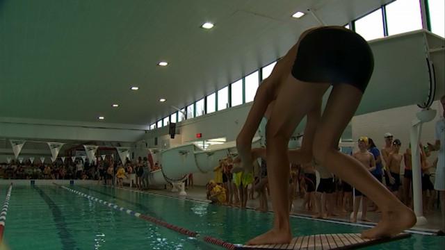 testLes jeunes nageurs se testent au Challenge Vers l'Avenir