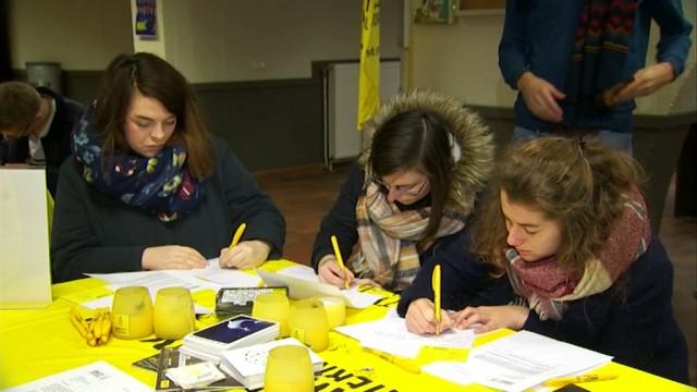 testMarathon des Lettres d'Amnesty International, le pouvoir des mots