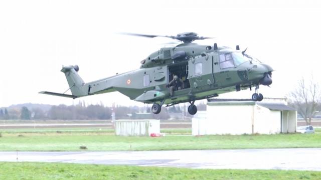 Deux NH90 de Beauvechain bientôt en mission au Mali