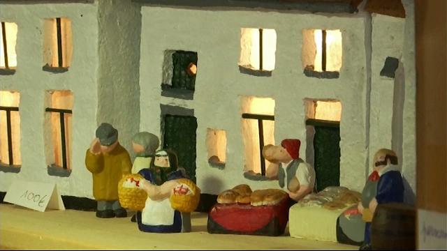 Des crèches de Noël brabançonnes prennent vie grâce à un artisan lasnois