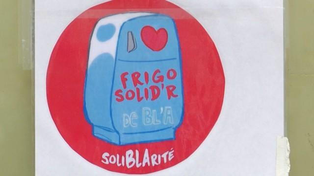 Un frigo Solid'R qui réchauffe les coeurs à Braine-l'Alleud