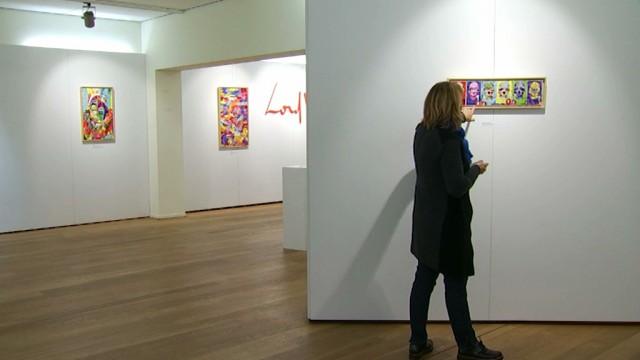 Lord Wilmore présente son art numérique à Louvain-la-Neuve