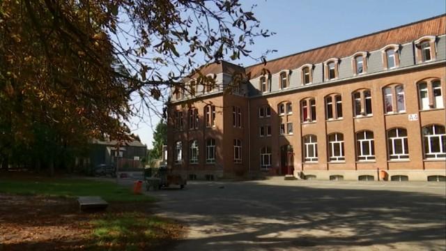 testTempête David : le toit de l'institut Vallée Bailly à Braine-l'Alleud menace de s'effondrer