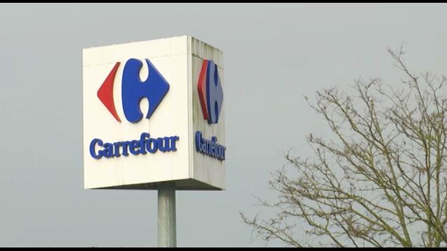 testPortes closes au Carrefour de Bierges