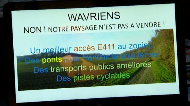 testPlus de 4000 signatures contre le contournement de Wavre