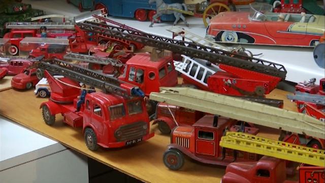 Un ancien charcutier devenu collectionneur de jouets anciens
