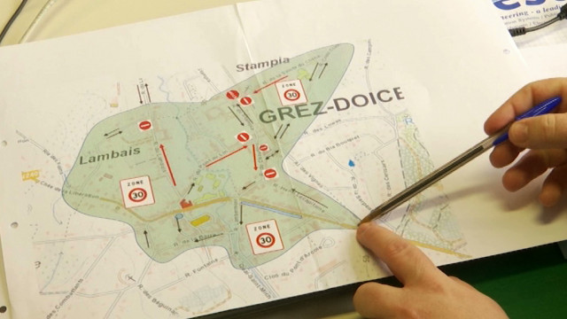 Le nouveau plan de circulation est d'application à Grez-Doiceau : voici les mesures prises