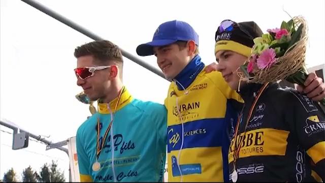 Cyclisme : malgré une crevaison, Florent Gilles s'impose à Huppaye