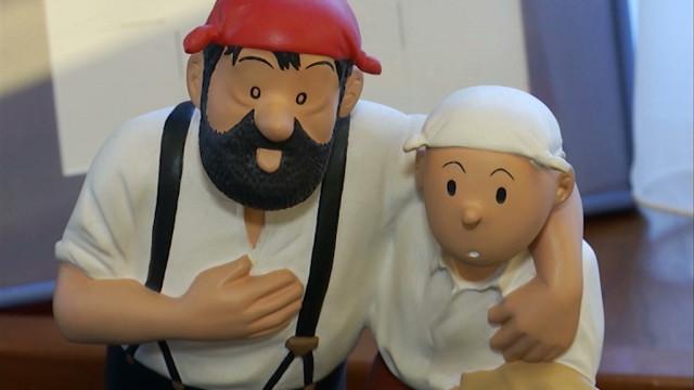 Tintin, Milou, le Capitaine Haddock, Quick et Flupke vendus aux enchères à Nivelles !