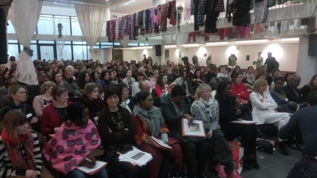 testSuccès pour le colloque international du Collectif des Femmes