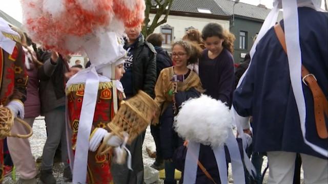 Après-midi carnavalesque à Braine-Le-Château (Ambiance)