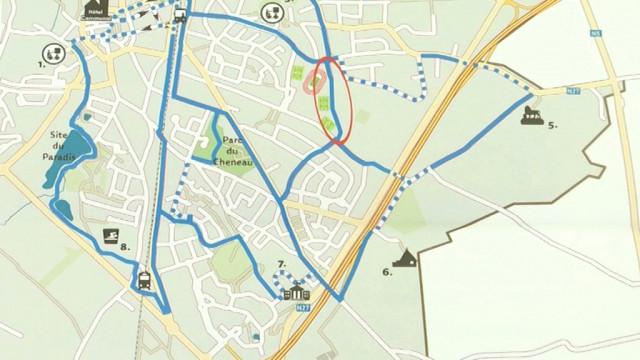 testUn réseau de pistes cyclables isolées du trafic prévu à Braine-l'Alleud