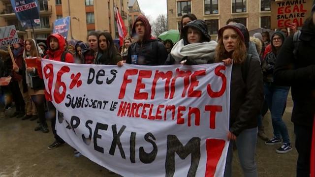 testUne marche pour soutenir Lorena, agressée dans son logement d'étudiante