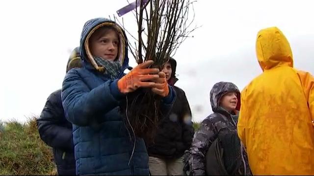 Opération Mille-Feuilles : les enfants mettent la main à la terre à Jauche