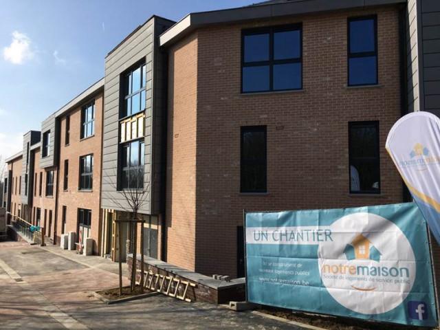 test30 logements publics inaugurés aux Bruyères à Louvain-la-Neuve