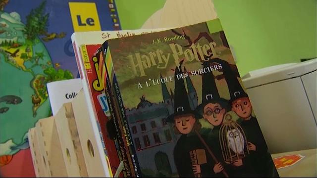 Harry Potter parmi les élèves de l'école Saint-Martin de Jauche