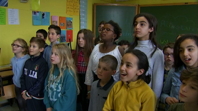 testAlimentaire mon cher Watson : une musique écrite par les élèves de Noduwez !