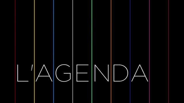 L'Agenda - 13 avril 2018