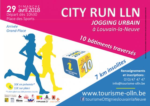 Un jogging urbain insolite va traverser Louvain-la-Neuve !