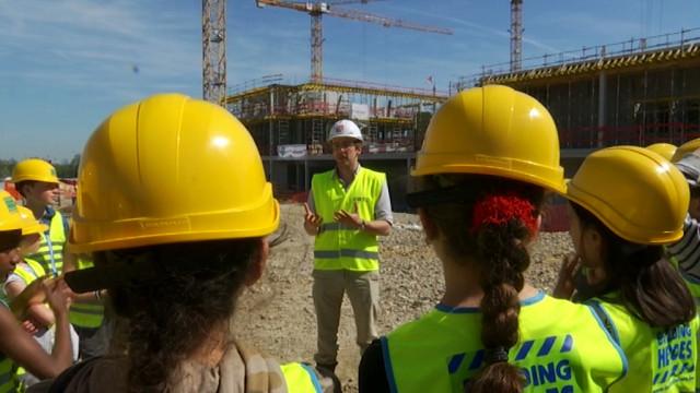 A la découverte du chantier du China Belgium Technology Center