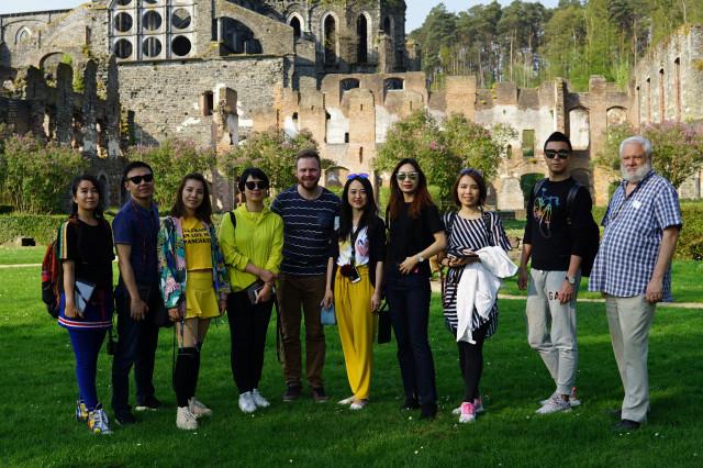 L'Abbaye de Villers-la-Ville veut séduire les touristes chinois