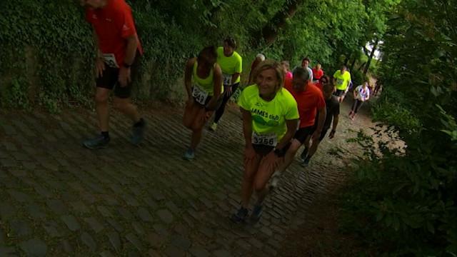 Le Jogging du Buchet et son fameux col à 30% !