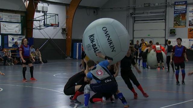 Le kin-ball, découverte d'un sport atypique