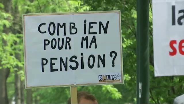 """Manifestation contre la réforme des pensions : """"les travailleurs devraient tous manifester"""""""