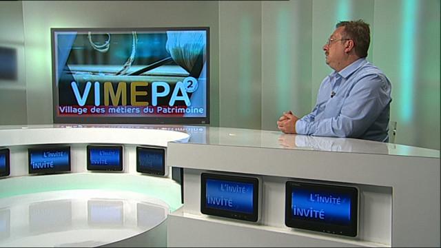 testL'invité : Pascal Mulpas - Village des métiers du patrimoine au PAM Expo
