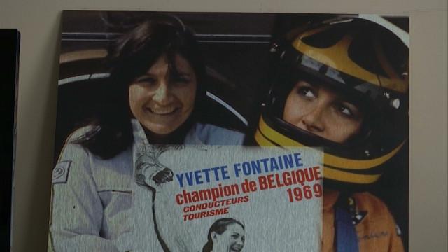 Yvette Fontaine, star oubliée de l'automobile