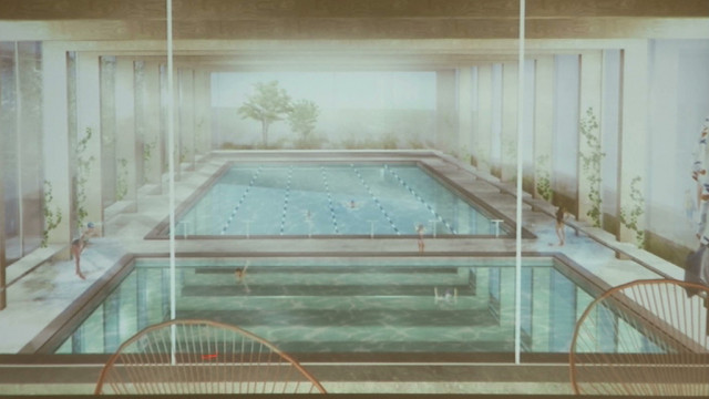 Le hall polyvalent de Wavre bientôt rejoint par une piscine ?